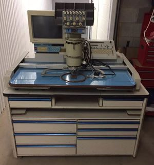 Barudan BEAT IV-YS-T 7-needle 1 Head Industrial Embroidery Machine for Sale in Sterling, VA