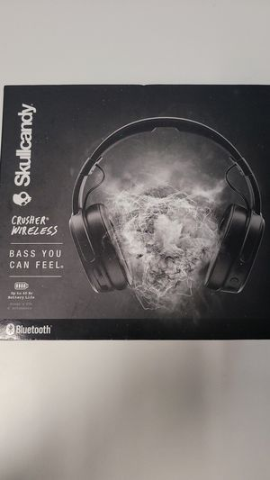 Skullcandy - wireless Crusher (Bass You Can Feel) (Mint) for Sale in Orlando, FL