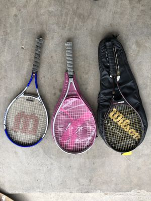 Wilson tennis rackets for Sale in Kyle, TX