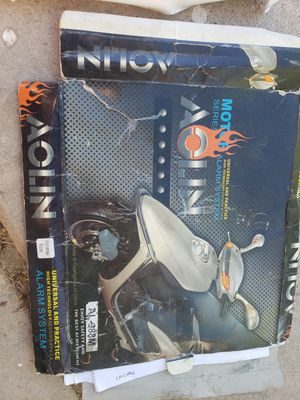 Motorcycle Alarm with 2 remotes and remote start for Sale in Mesa, AZ