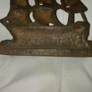 Old Iron Side (USS Constitution) Antique Bookend for Sale in Fort Washington, MD