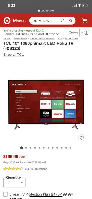 TCL Roku TV for Sale in New York, NY