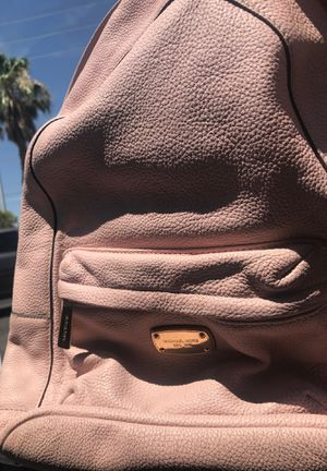 MICHAEL KORS baby pink backpack only $60! Originally $205 for Sale in Las Vegas, NV