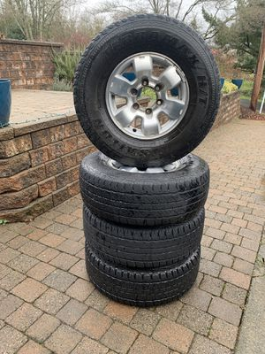 Terramax 31x10.50R15 Tires and Wheels Set of 4 for Sale in Lake Oswego, OR