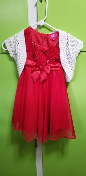Girls holiday/party dress w shall for Sale in Mountlake Terrace, WA