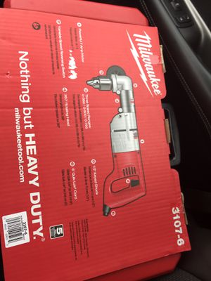 Milwaukee 1/2 right angel drill kit for Sale in Lafayette, IN