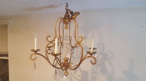 Beautiful crystal chandelier for Sale in Medford, MA