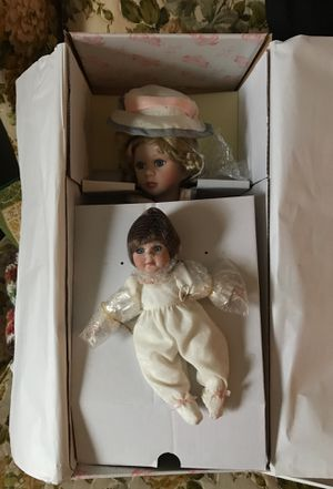 Two antique dolls porcelain for Sale in Lincolnton, NC