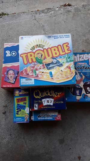 LOT 6 Kid games for Sale in Tinton Falls, NJ