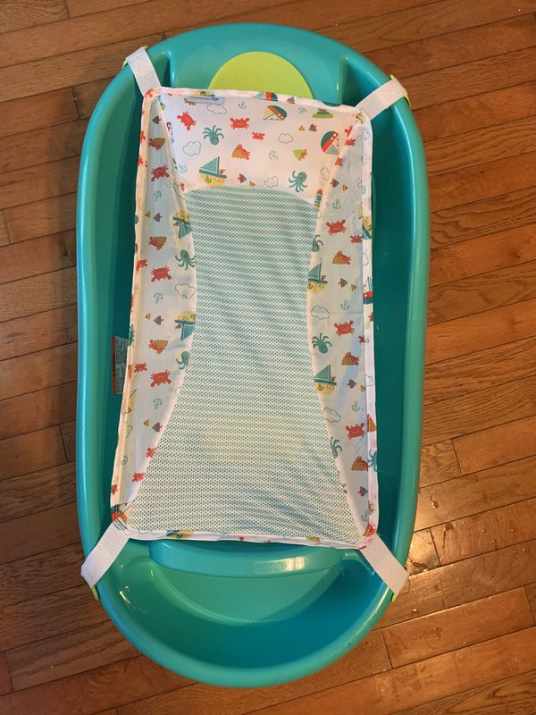 Summer Infant Comfy Clean Deluxe Newborn to Toddler Tub