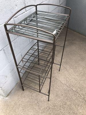 Metal shelves rack raqueta de metal organizador for Sale in Los Angeles, CA