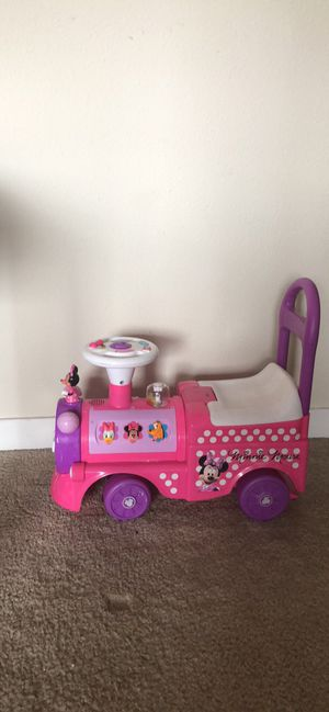 Toddler train with space for toys for Sale in Portland, OR
