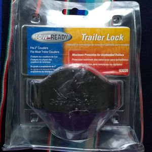 """2"""" Coupler Tow Ready Trailer Lock for Sale in Peotone, IL"""