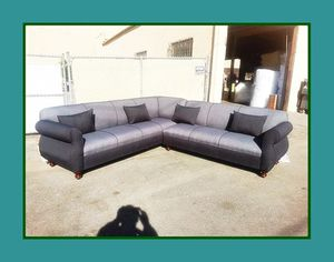 """new 9x9 ft """"Charcoal combo"""" sectional couches for Sale in Los Angeles, CA"""