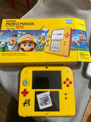 Super Mario maker 3DS with Mario party island tour game for Sale in Buena Park, CA