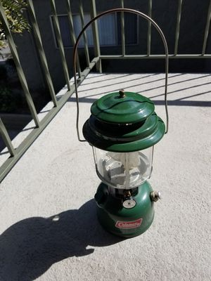 Coleman lantern 11/74 for Sale in Oxnard, CA