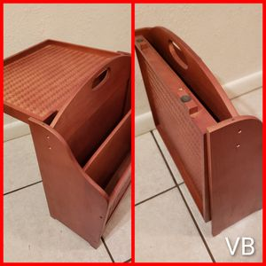 Folding Side Table With Rack. for Sale in Tampa, FL