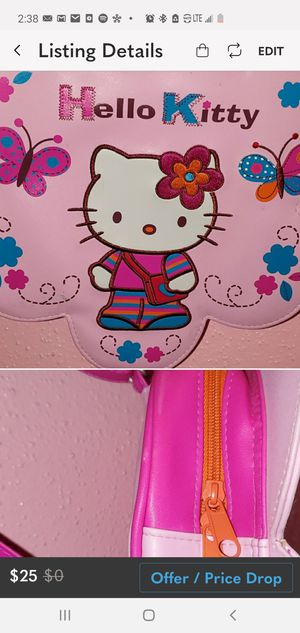 Hello kitty toddler backpack for Sale in Houston, TX