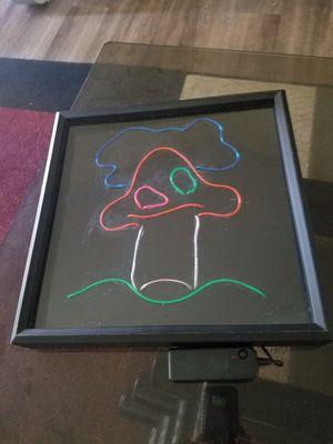 Mushroom Neon El Wire Sign for Sale in Escondido, CA