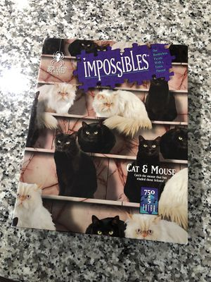 Impossible cat puzzle board games for Sale in Hesperia, CA