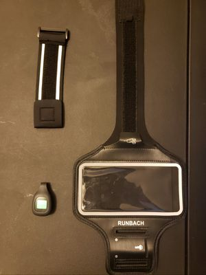 Fitbit Zip Wireless Activity Tracker With A Runbach Armband for Sale in Anchorage, AK