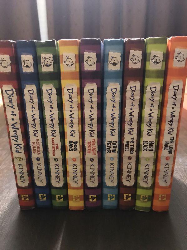 NEW Diary of a Whimpy Kids | Book 1 thru Book 9