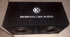"""Two Memphis Audio 12"""" 500w Car Subwoofer in box for Sale in Oakley, CA"""