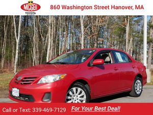 2013 Toyota Corolla for Sale in Hanover, MA
