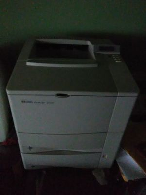 HP 4100 LaserJet network printer with new HP toner cartridge for Sale in Washington, DC