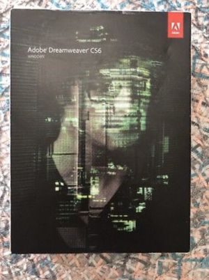 Adobe dreamweaver 6. CS6 for Sale in Sacramento, CA