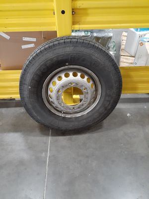 Wheel and brand new tire LT215 /85 R16 for Sale in Arvada, CO