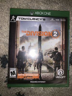Xbox one the division 2 for Sale in Westwego, LA