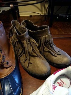 Fringe ankle boots (girls) for Sale in Greenville, SC