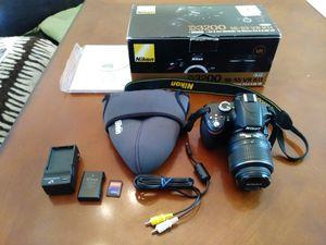 Nikon D3200 18-55 VR Kit for Sale in Manassas, VA