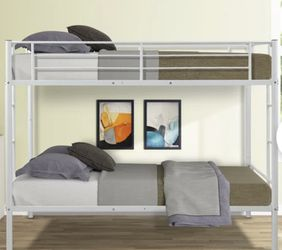 Twin Bunk bed -without mattresses for Sale in South Euclid,  OH
