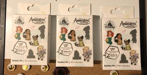 Animator princess Disney pins for Sale in Mauldin, SC