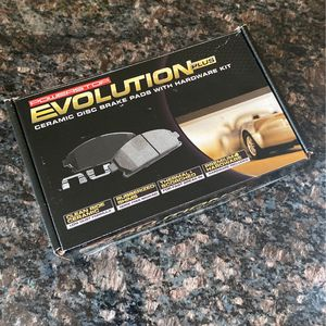 Power stop Evolution Plus Ceramic Disc Brake Pads With Hardware Kit for Sale in Toms River, NJ