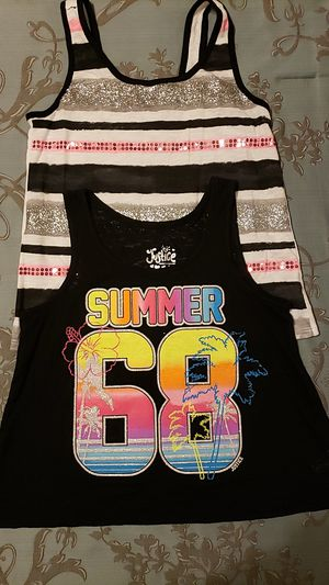 Justice girls tops size 12 for Sale in Peoria, AZ