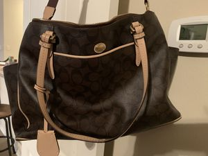 Authentic Coach Diaper Bag for Sale in Forney, TX