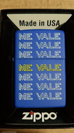 Zippo me vale royal blue matte 77545 for Sale in Los Angeles, CA