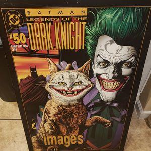 Large Joker Pressboard Poster for Sale in Las Vegas, NV