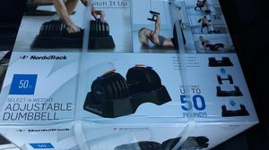 50$ new adjustable weights 120$new for Sale in Aliquippa, PA