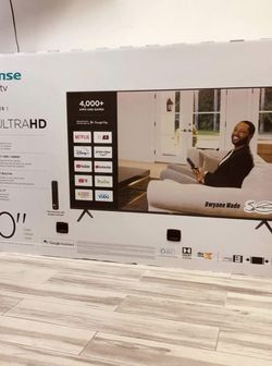 """Hisense 70"""" 4k Ultra High Definition Smart Tv For $649.99 Or as Low As $50 Down Payment for Sale in Sanford,  FL"""