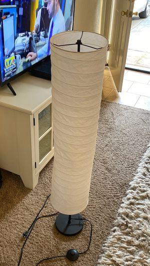 Floor lamp 4 ft Has foot on off button too. for Sale in Bakersfield, CA