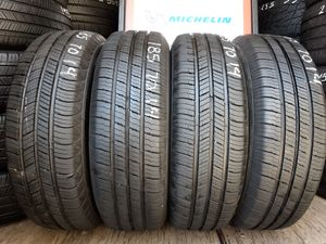 4 USED TIRES 185 70 14 MICHELIN 95% TREAD $180 ALL 4 INSTALLED AND BALANCED for Sale in San Diego, CA