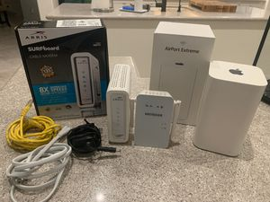 Apple Router and Netgear Extender for Sale in Phoenix, AZ