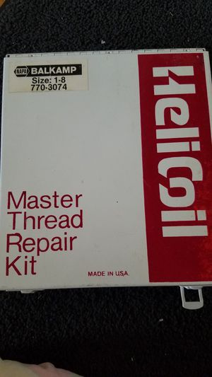 Heli-Coil Master Thread Repair Kit for Sale in Sanger, CA