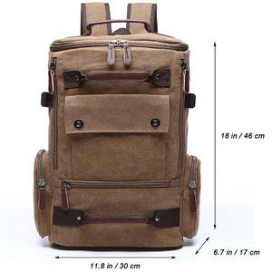 Canvas Backpack Fashion Travel Backpack School Rucksack Hiking Daypack for Sale in Las Vegas, NV