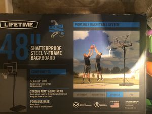 Portable basketball system for Sale in Baltimore, MD