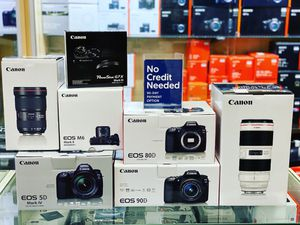 Cameras, lenses, drones and accessories!!! no credit needed for Sale in Fountain Valley, CA